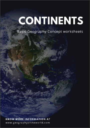 Free Continents of the world worksheet answer pdf
