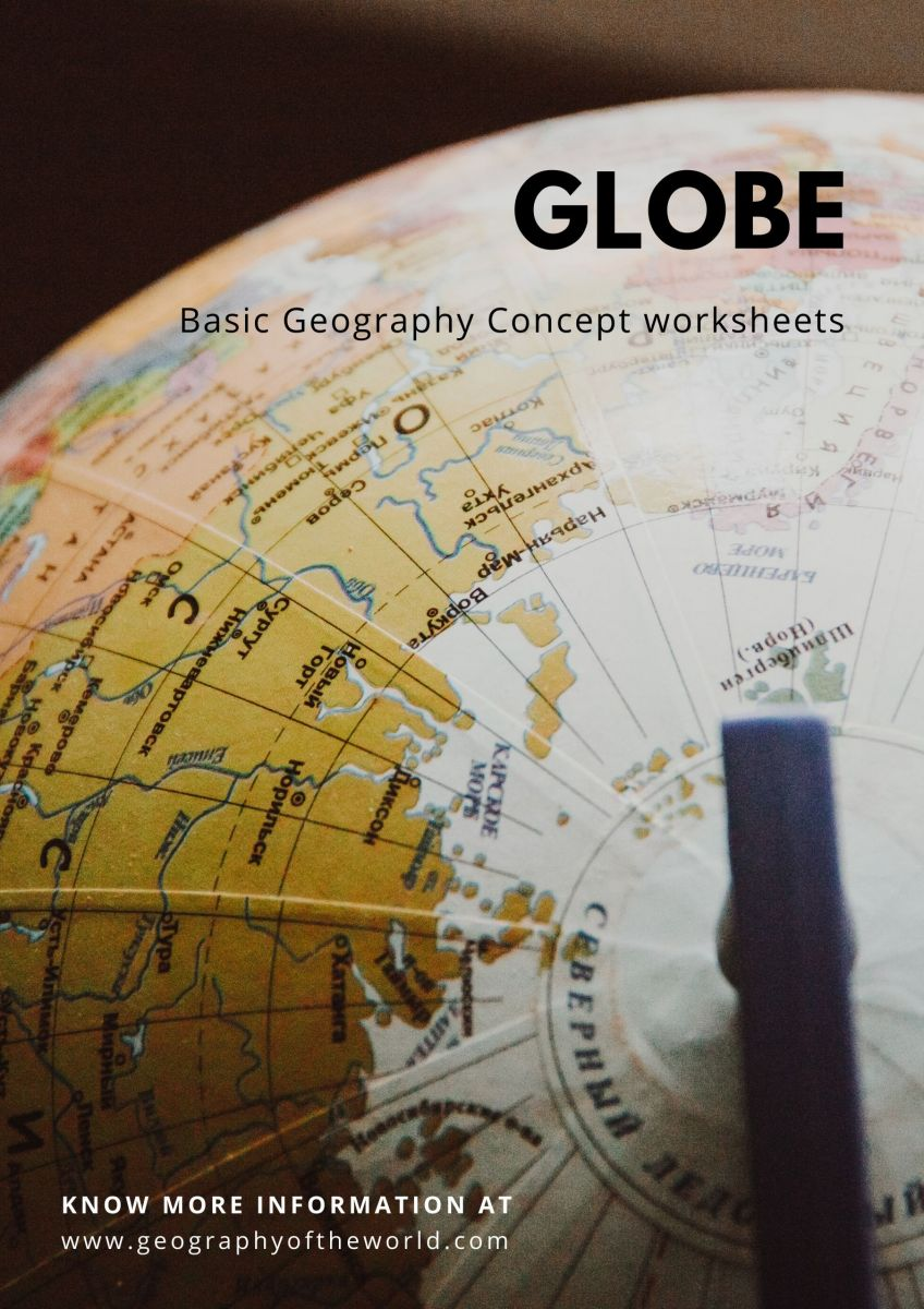 geography printables Globe worksheets for 5th grade pdf