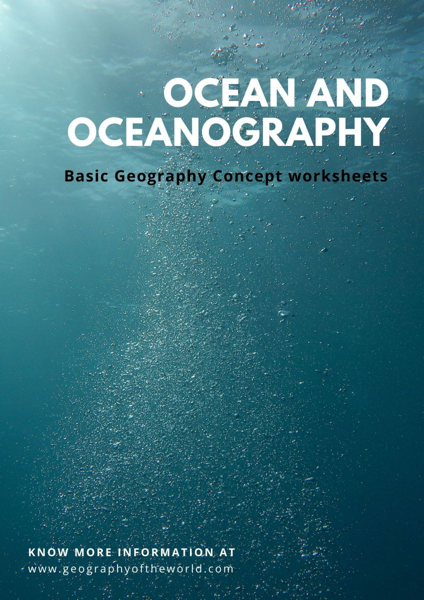 free ocean and oceanography worksheet answers pdf