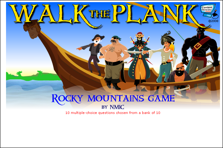 The Rocky Mountains -free to play games now